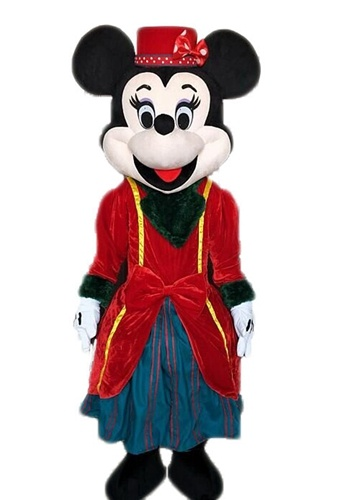 Minnie Mouse Mascot