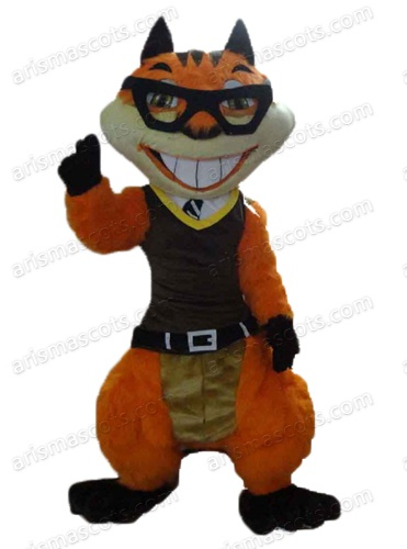 Ebullient Squirrel mascot costume