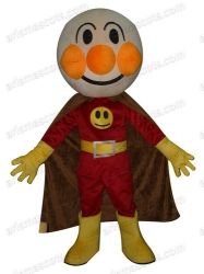 Super Bread Man mascot costume