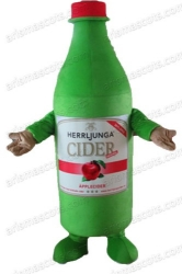 Bottle Mascot Costume