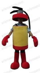 Extinguisher Mascot Costume