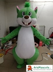Squirrel Mascot Costume