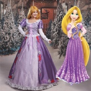 Princess Tangled Rapunzel Costume