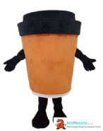 Coffee Cup Mascot
