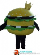 Hamburger Mascot Costume