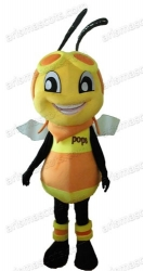 Pops Bee mascot costume