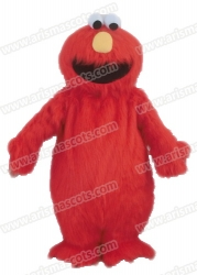 Elmo Monster mascot