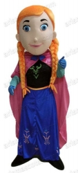 Frozen Princess  Anna mascot