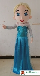 Frozen Princess Elsa mascot