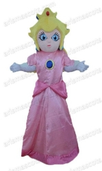 Princess Peach mascot
