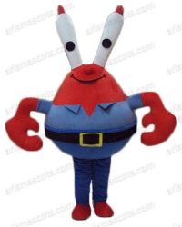 Mr Krab mascot costume