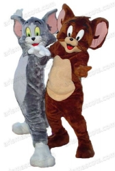 Tom and Jerry mascot
